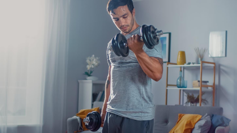 entrainement musculation maison