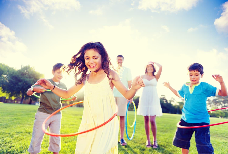 sport avec les enfants