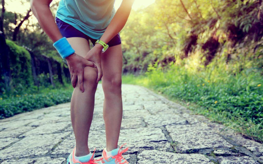 Douleur au genou pendant la course